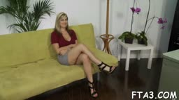 Hottie loves vehement fuck a lot