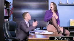 Angela White The Horny Office Slut