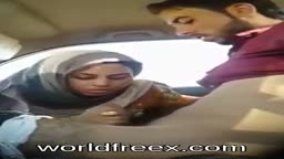 pakistani couple fucking on the car