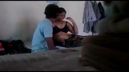 desi bhabhi with her young brother Romance in room