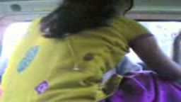 Bangladeshi couple making out in car