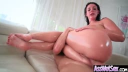 Big Ass Girl (Angela White) Get Oiled Up And Hard Analy Nailed On Cam mov