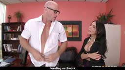 Hottest office fuck with busty chick 11