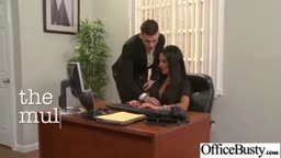 elicia solis) Horny Busty Office Girl Enjoy Hard Sex Action mov-12