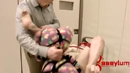Penny Pax gets anal fuck on metal cart in mental hospital