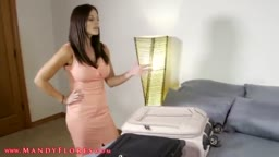 Mom and Step Son Share a Bed HD