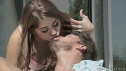 Julia Red assfucked under the sun