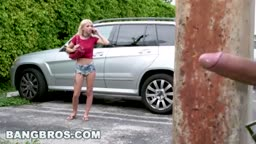 Stalking Teen Kenzie Reeves and Giving Her Some Rough Sex