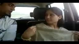 Himachal beauty giving Getting Fingered & Blowjob in Car on valley road