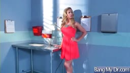 Superb Patient (Cherie Deville) Get Seduced By Doctor And Nailed video