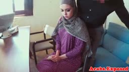 Muslim babe screwed before tasting cum